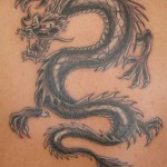 Black dragon tattoo 3
