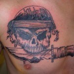 Kill em all tattoo