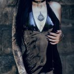 Beautifull goth girl tattoos