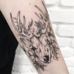 Raindeer tattoo