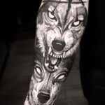 Wolfes tattoo