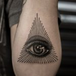 The all seeing eye tattoo